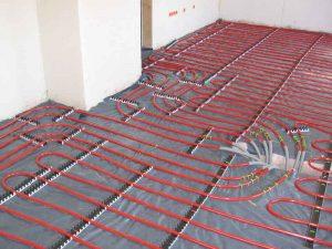 Lekkage in vloerverwarming handig dichten lekdetectiecentrale